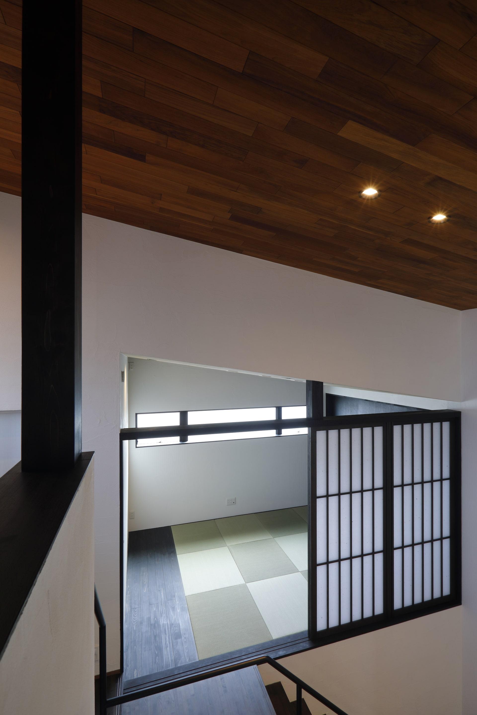 中二階の寝室